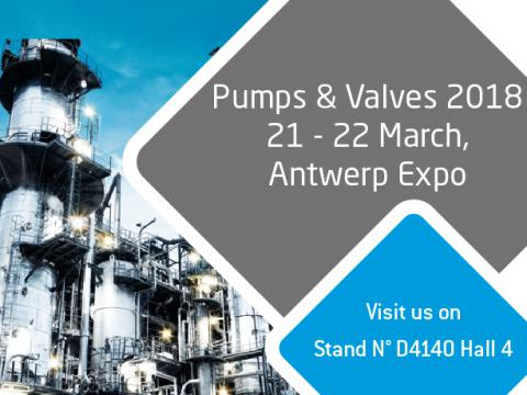 Pumps & valves Antwerp I 21st - 22nd March 2018
